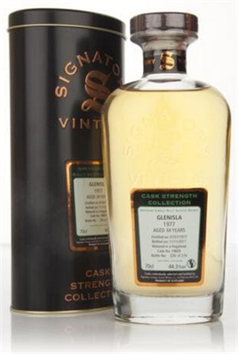 Glenisla Scotch Single Malt 1977 29 Year  Cask Strength By Signatory